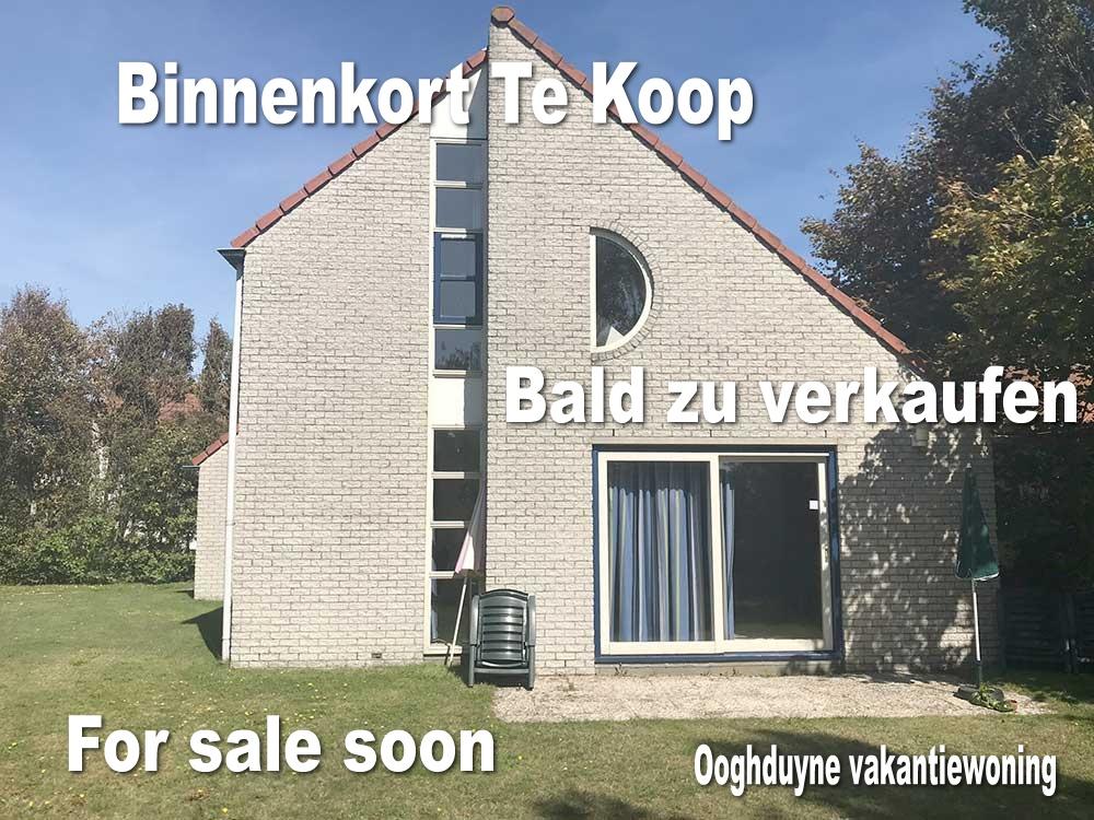 Binnenkort Te Koop - Bald zu verkaufen - For sale soon